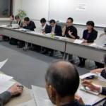 政策提言に関する会議の様子