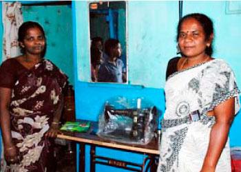 ソルトの融資を受けている女性たち