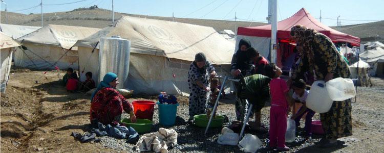 カウログスク難民キャンプ