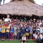 カンボジアの希望孤児院にて